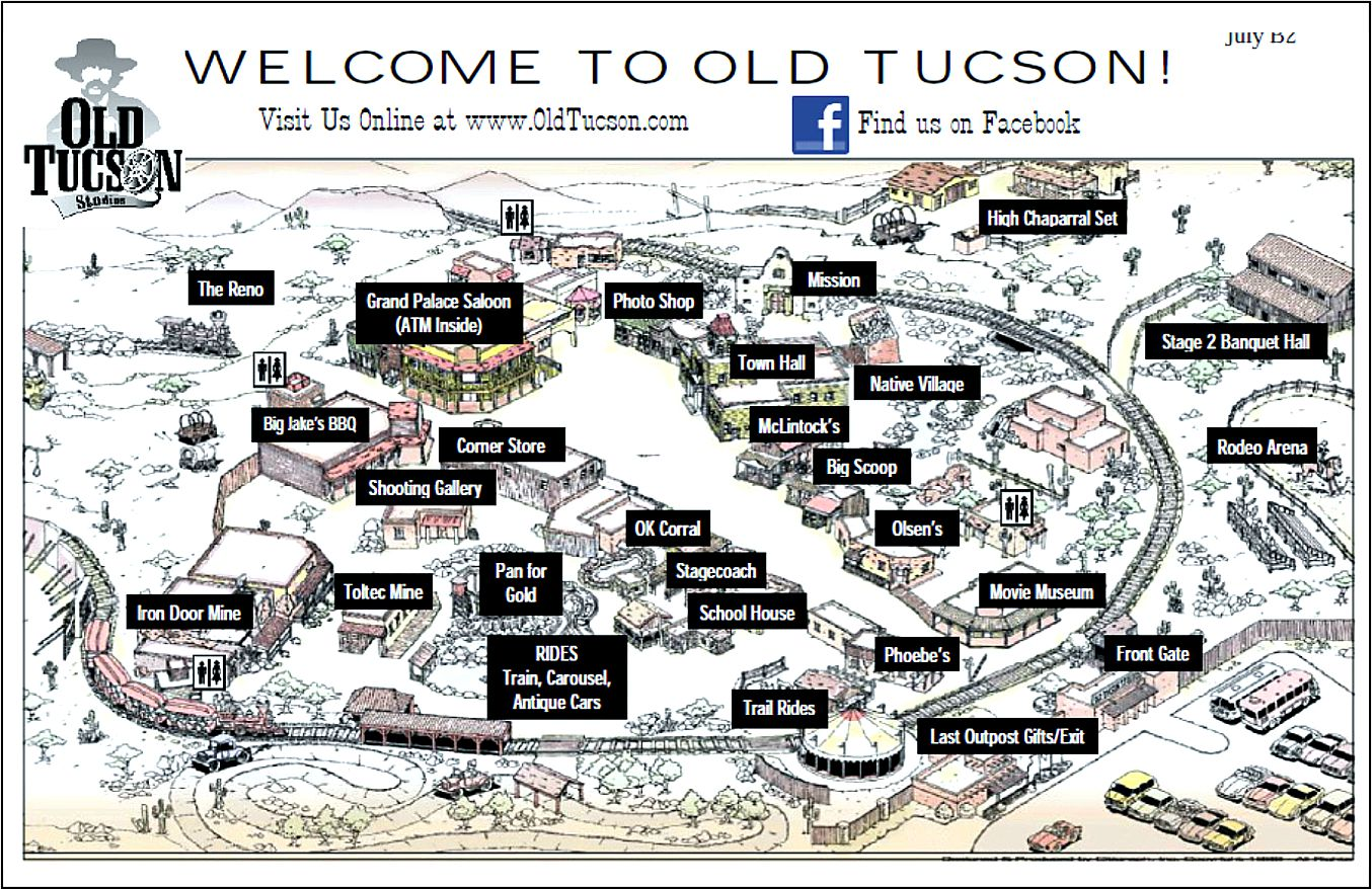 oldtucson2 – Tucson Tourist Attractions Map