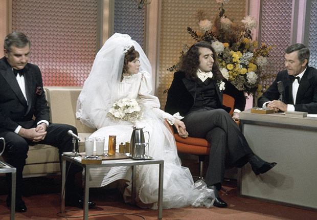 Image result for tiny tim married on the tonight show with johnny carson