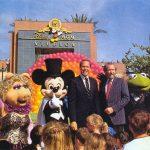 August 28, 1989 Michael Eisner of Disney and Jim Henson