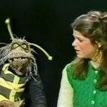 Gilda Radner interacts with Henson's creations on SNL.