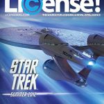 The power of the Star Trek brand makes the cover of License magazine in 2012.