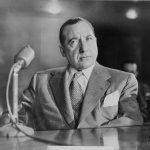 mobster Frank Costello on trial