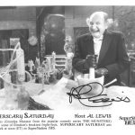 Grandpa (Al Lewis) from The Munsters hosted a TBS Saturday horror film show from 1987-1989 drawing upon his recognizability from reruns.