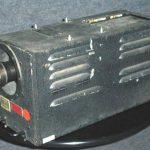 World War II-era TV airborne camera (attribution: Southwest Museum of Engineering, Communications and Computation)