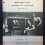 1939 GE TV & Radio installation guide