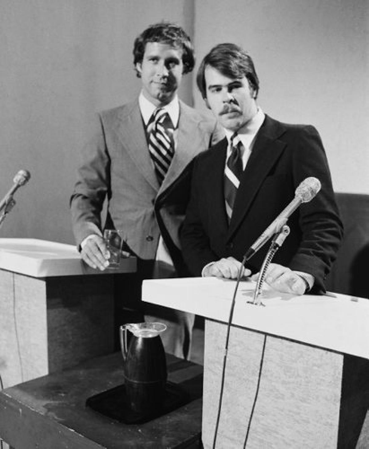 Chevy Chase Gerald Ford Dan Aykroyd Jimmy Carter Snl